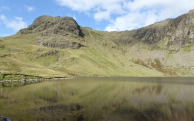 Absorbing our stunning English Lakeland Fells